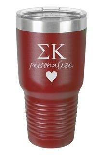 Sigma Kappa Vacuum Insulated Tumbler