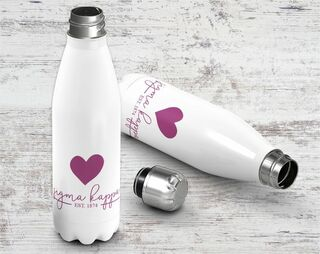 Sigma Kappa Established Stainless Steel Water Bottle