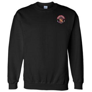 DISCOUNT-Sigma Kappa World Famous Crest - Shield Crewneck Sweatshirt