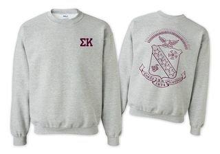 Sigma Kappa World Famous Crest - Shield Crewneck Sweatshirt- $25!