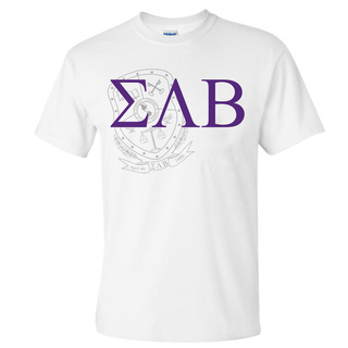 Sigma Lambda Beta Greek Crest - Shield T-Shirt