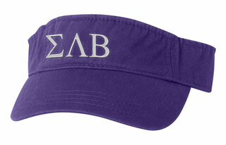 Sigma Lambda Beta Greek Letter Visor