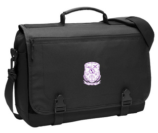 Sigma Lambda Beta Messenger Briefcase