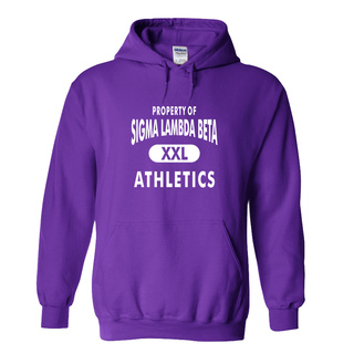 Sigma Lambda Beta Property Of Athletics Hoodie