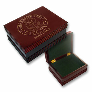 Sigma Lambda Beta Wooden Keepsake Box