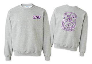 Sigma Lambda Beta World Famous Crest - Shield Crewneck Sweatshirt- $25!