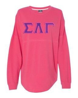 DISCOUNT-Sigma Lambda Gamma Athena French Terry Dolman Sleeve Sweatshirt