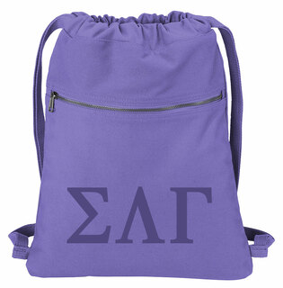 Sigma Lambda Gamma Beach Wash Cinch Pack