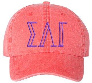 Sigma Lambda Gamma Carson Greek Letter Hats