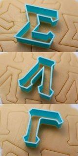 Sigma Lambda Gamma Cookie Cutters