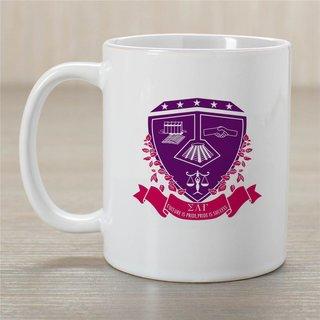 Sigma Lambda Gamma Crest Coffee Mug