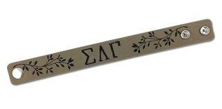 Sigma Lambda Gamma Cuff Bracelet