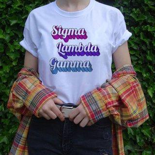 Sigma Lambda Gamma Echo Tee - Comfort Colors