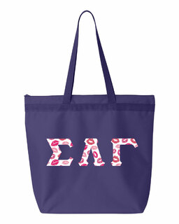 Sigma Lambda Gamma Greek Letter Liberty Bag