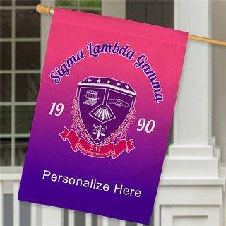 Sigma Lambda Gamma House Flag