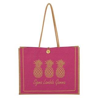 Sigma Lambda Gamma Paradise Jute Bag