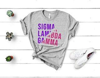 Sigma Lambda Gamma Ripped Favorite T-Shirt