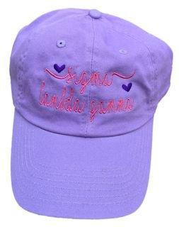 Sigma Lambda Gamma Script Hearts Ball Cap