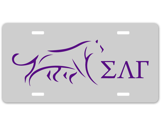 Sigma Lambda Gamma Sorority Logo License Cover