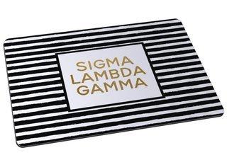 Sigma Lambda Gamma Striped Mousepad