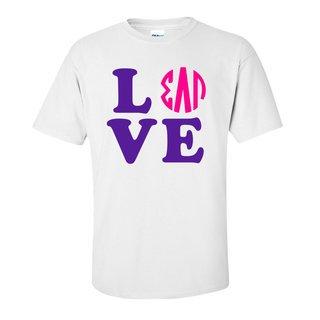Sigma Lambda Gamma Love Letter T-Shirt