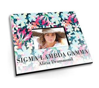 Sigma Lambda Gamma Tropical Picture Frame