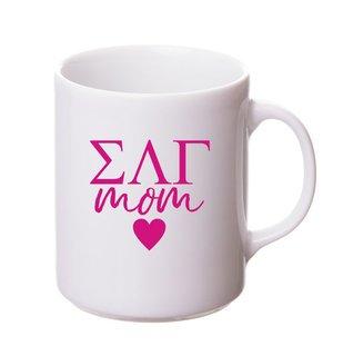 Sigma Lambda Gamma White Personalized Coffee Mug