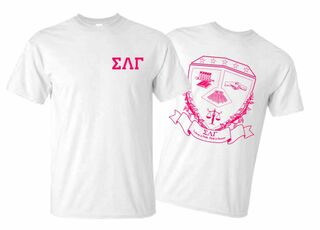 Sigma Lambda Gamma World Famous Crest - Shield Tee