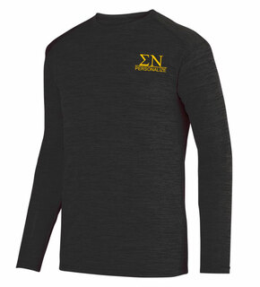 Sigma Nu- $20 World Famous Dry Fit Tonal Long Sleeve Tee