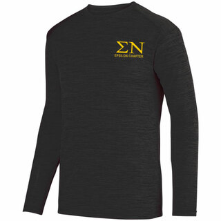 Sigma Nu- $26.95 World Famous Dry Fit Tonal Long Sleeve Tee