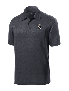 DISCOUNT-Sigma Nu- World Famous Greek Crest - Shield Contender Polo