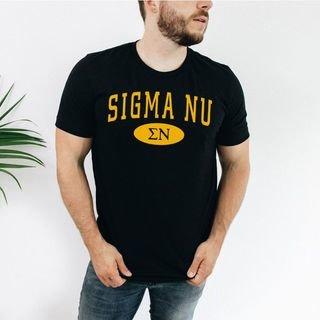 Sigma Nu arch tee