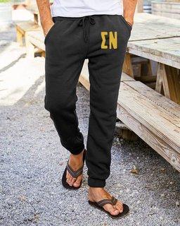 Sigma Nu Big Letter Sweatpants