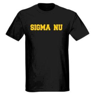 Sigma Nu college tee
