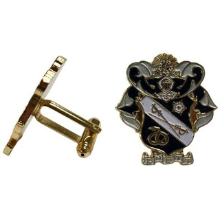 Sigma Nu Color Crest - Shield Cuff links