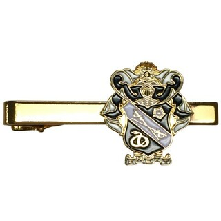 Sigma Nu Color Crest - Shield Tie Clips