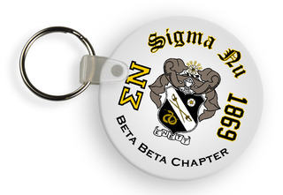 Sigma Nu Color Keychains