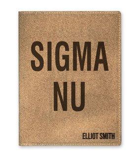 Sigma Nu Cork Portfolio with Notepad