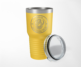 Sigma Nu Crest Seal Tumbler