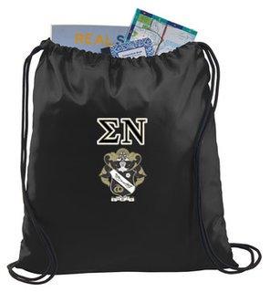 Sigma Nu Crest - Shield Cinch Sack