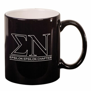 Sigma Nu Custom Ceramic Coffee Mug