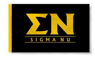 Sigma Nu Custom Line Flag