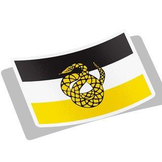 Sigma Nu Flag Decal Sticker