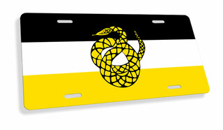 Sigma Nu Flag License Cover