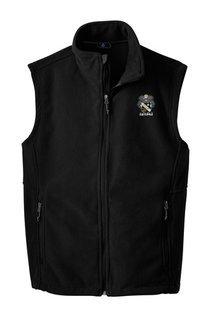 Sigma Nu Fleece Crest - Shield Vest