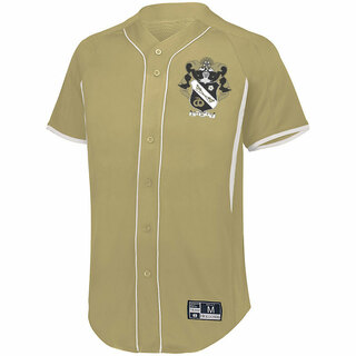 Sigma Nu Game 7 Full-Button Baseball Jersey