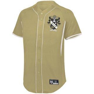 Sigma Nu Game 7 Full-Button Baseball Jersey