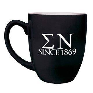 Sigma Nu Greek Bistro Mug