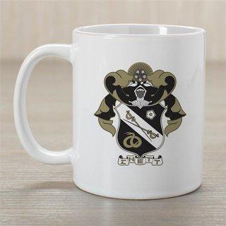 Sigma Nu Greek Crest Coffee Mug