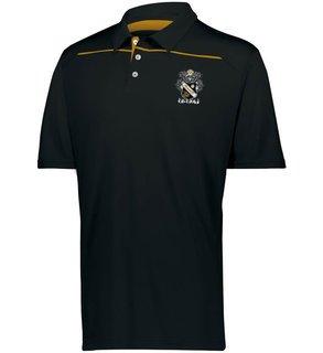 Sigma Nu Greek Crest Emblem Defer Polo